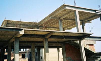 Taxonomy Precast Concrete Roof With Reinforced Concrete Topping