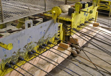 terms and terminologies in prestressed concrete Prestressed concrete definition, concrete reinforced with wire strands,  pretensioned or post-tensioned  british dictionary definitions for prestressed  concrete.