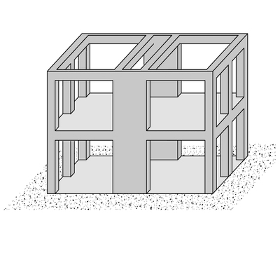 Taxonomy - Dual frame-wall system [LDUAL]